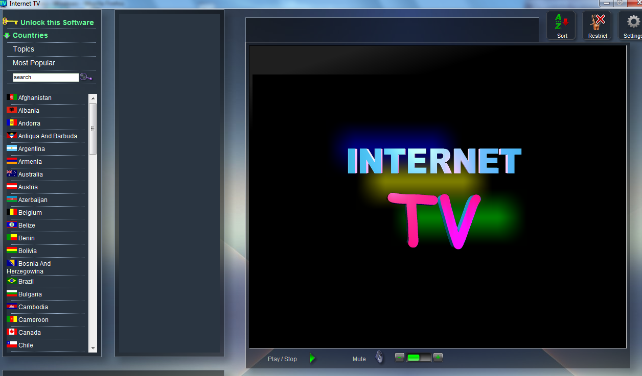 Adult inernet tv