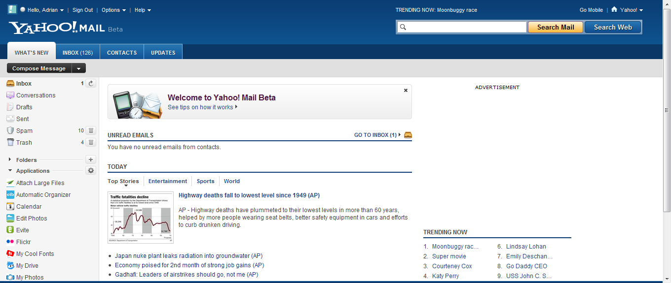 Yahoo! Mail Beta - Soft32 Blog