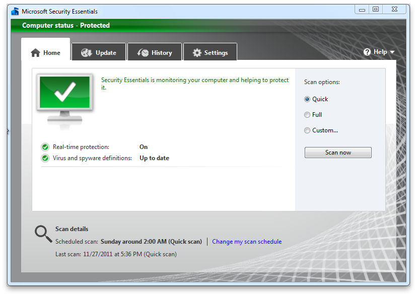 Microsoft Security Essentials for the win - Soft32 Blog