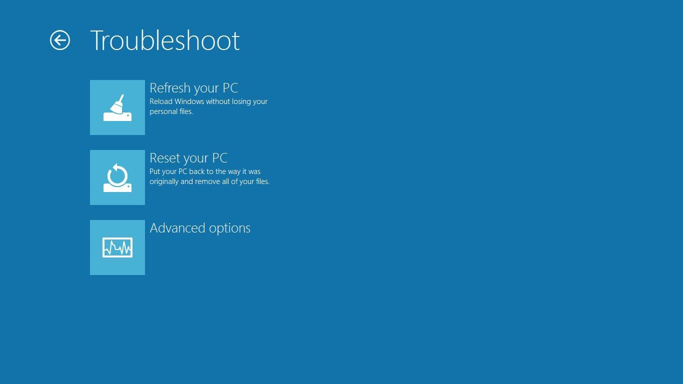 windows 8 features   refresh and reset your pc   soft32 blog