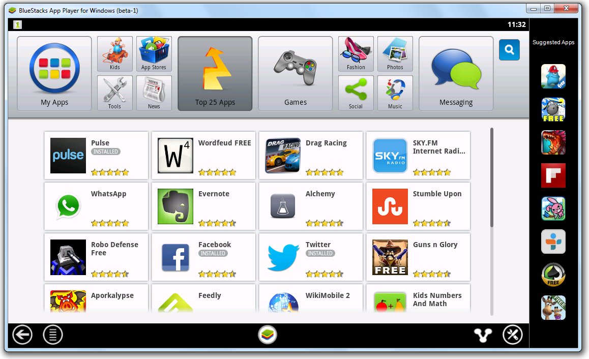 download android emulator for windows 7 full version