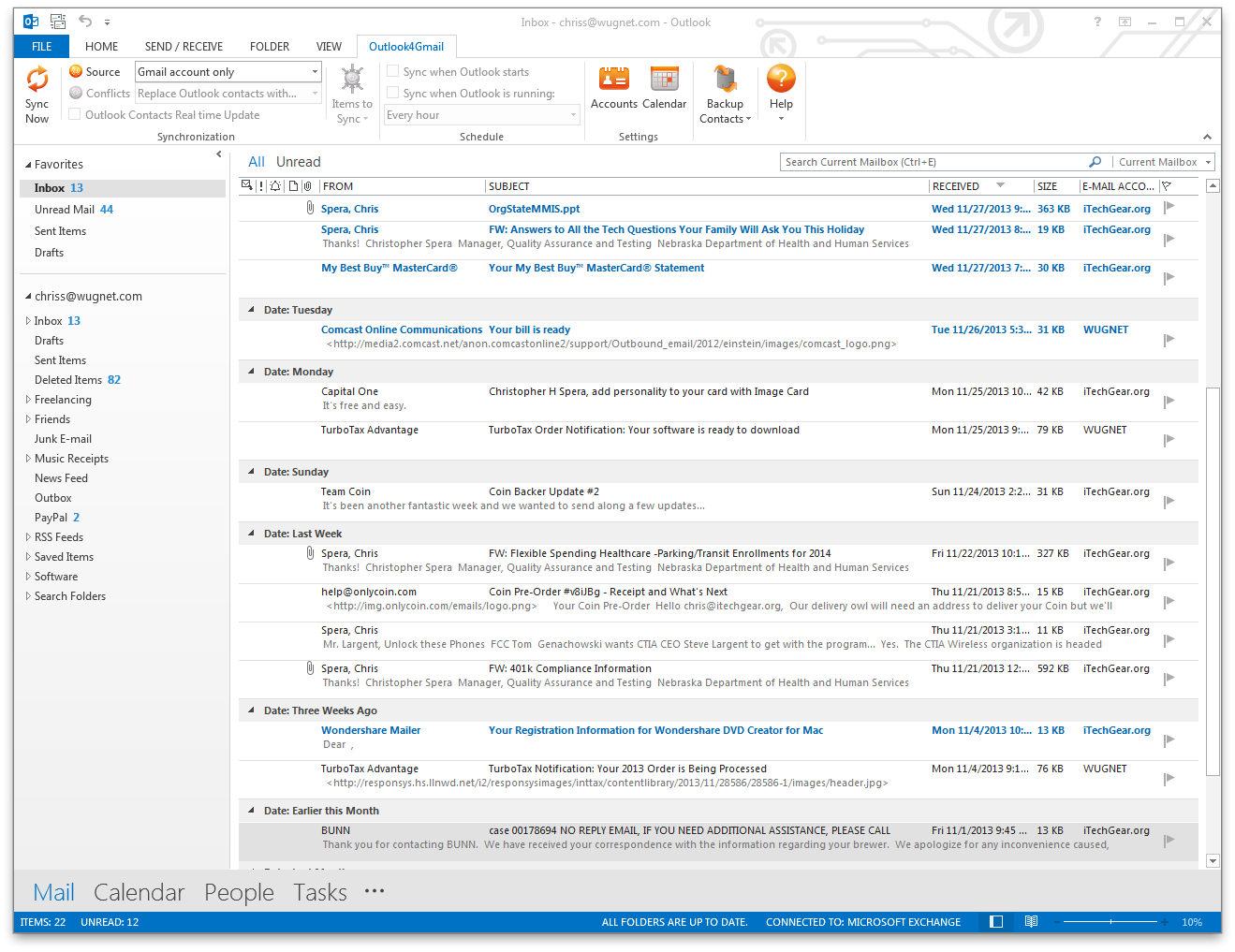 how to add one more email account in outlook 2013