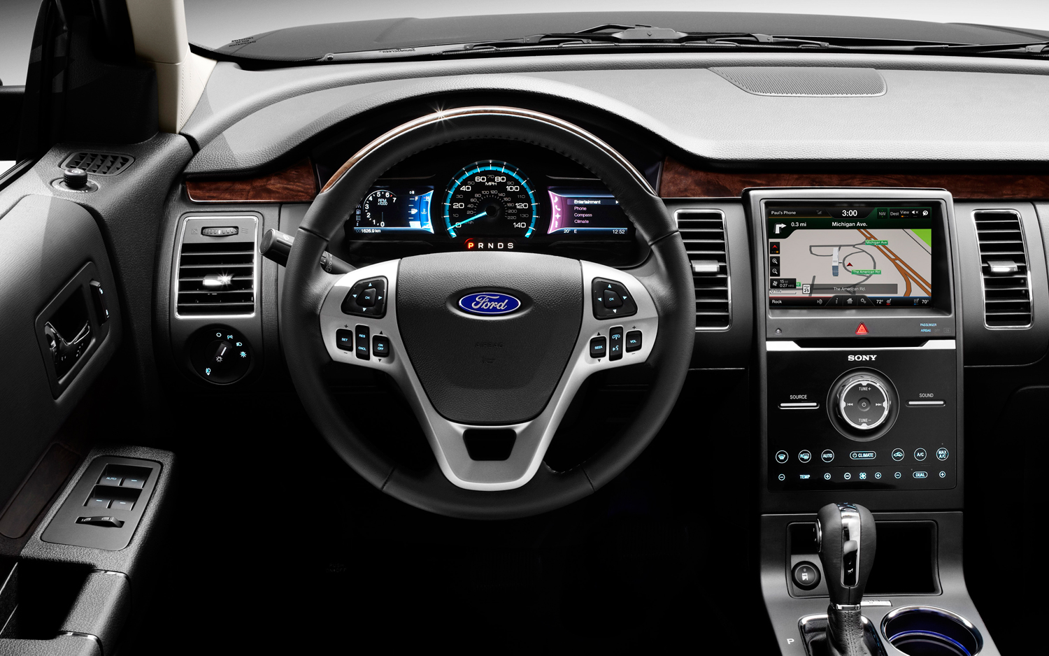 2013-ford-flex-EcoBoost-steering-wheel