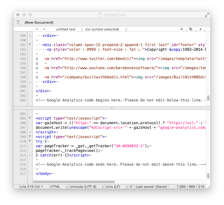 quickly and easily create and modify text and html xml files with