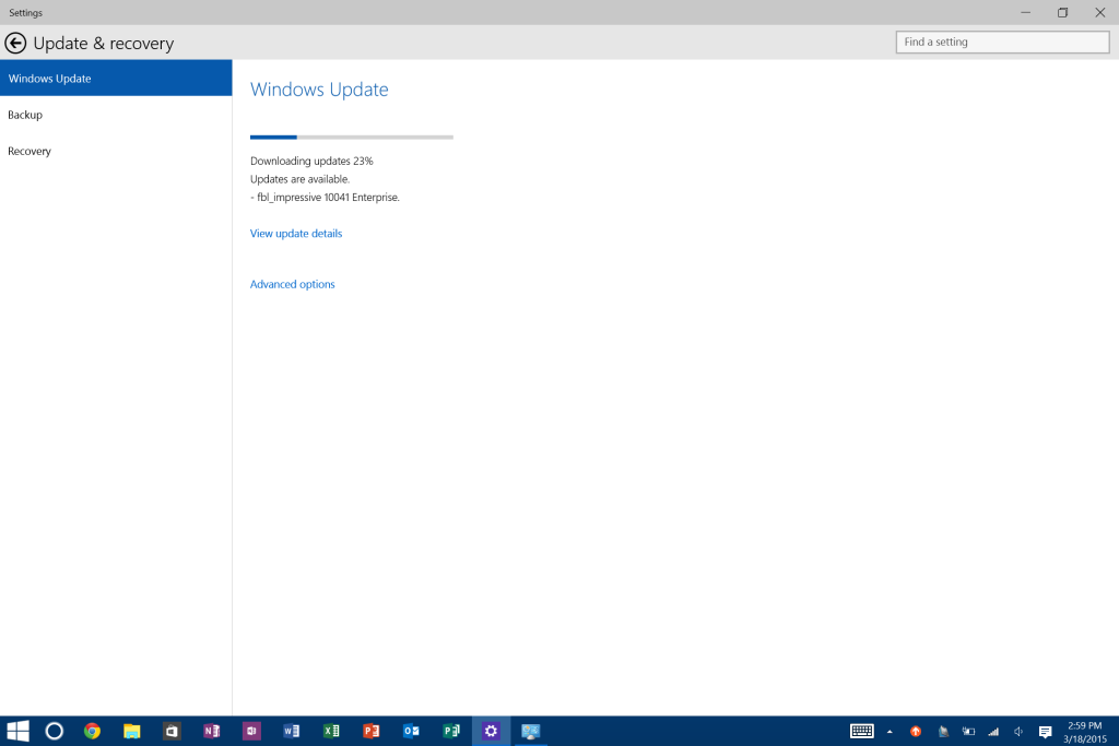 Build 10041 Download