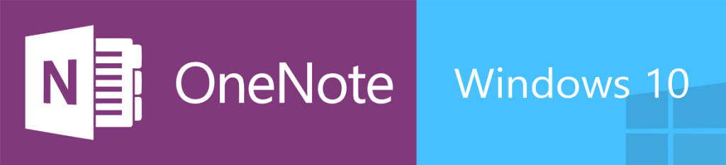 onenote and windows 10