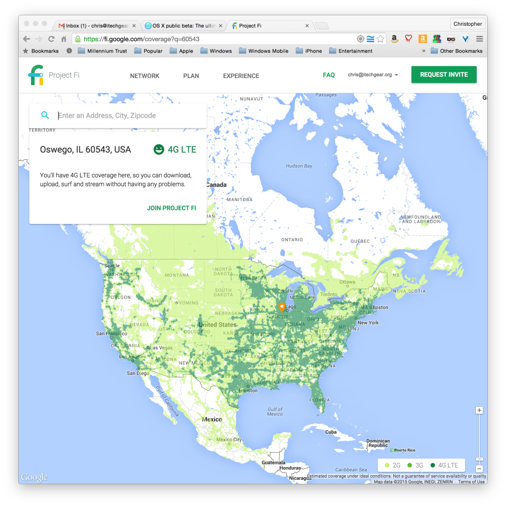 Project Fi National Coverage