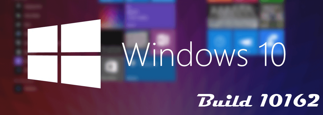 Windows 10 Build 10162